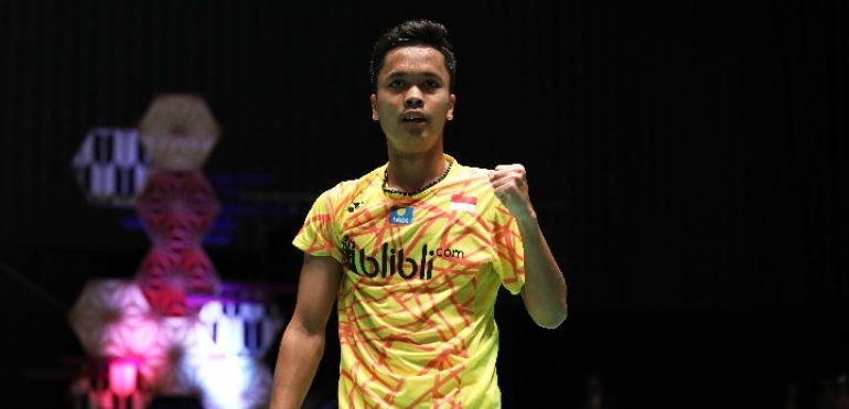 Fuzhou China Open: Kalahkan Jonatan, Anthony ke Perempat Final