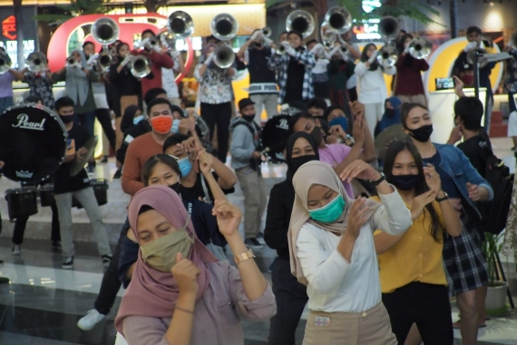Flash Mob Perdana dari BBDC